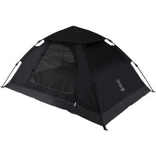 ドッペルギャンガー(DOPPELGANGER)の【新品】DOD T2-629-BK ブラック [ワンタッチテント] キャンプ(テント/タープ)