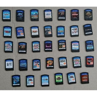 プレイステーションヴィータ(PlayStation Vita)のPSVITAソフト まとめ売り(携帯用ゲームソフト)