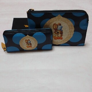 Vivienne Westwood - 未使用 ヴィヴィアン BUNNY バニー 長財布+クラッチバッグセット