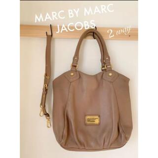 MARC BY MARC JACOBS - マークバイマークジェイコブス ハンドバック ショルダーバック 2way ベージュ