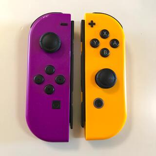 Nintendo Switch - 【ジャンク品】スイッチ 紫&オレンジ ジョイコン