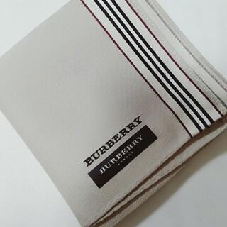 BURBERRY - 【H68】バーバリーハンカチ
