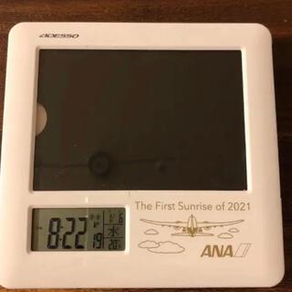 ANA フォトフレーム電波時計