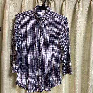 フレディアンドグロスター(FREDY & GLOSTER)のフレディグロスター 七分袖チェックシャツ(シャツ)