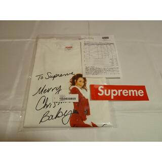 シュプリーム(Supreme)のsupreme mariah carey tee マライアキャリー M ホワイト(Tシャツ/カットソー(半袖/袖なし))