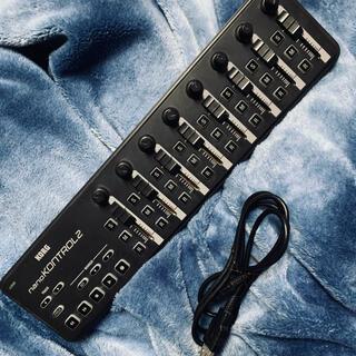 コルグ(KORG)の美品 コルグ KORG nano kontrol2  動作確認済 (MIDIコントローラー)
