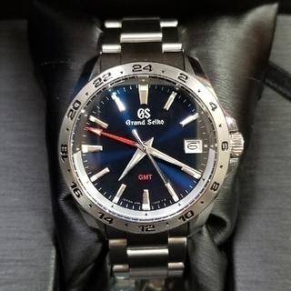 Grand Seiko - グランドセイコー GMT     SBGN-005 青文字盤
