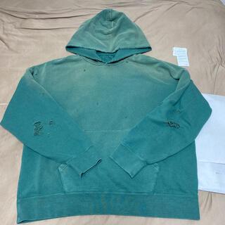 ヴィスヴィム(VISVIM)のVISVIM 21SS amplus hoodie crush green(パーカー)