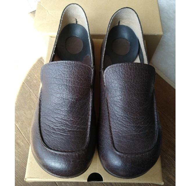 Re:getA(リゲッタ)のリゲッタ ドライビング ローファー Mサイズ ブラウン メンズの靴/シューズ(その他)の商品写真