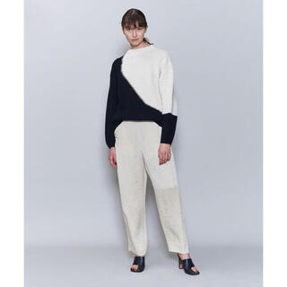 BEAUTY&YOUTH UNITED ARROWS - ロク★ BICOLOR KNIT PULLOVER/ニット