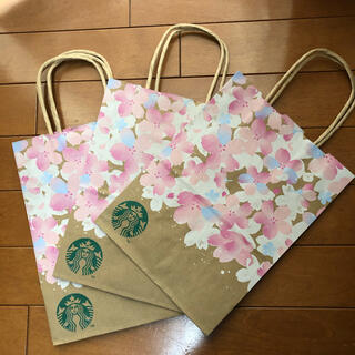 Starbucks Coffee - スターバックス 紙袋 3枚セット 2021