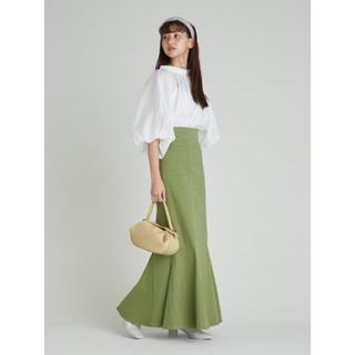 snidel - ハイウエストヘムフレアスカート SNIDEL 定価800円off