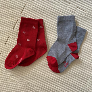 PETIT BATEAU - プチバトー 靴下 14 センチ