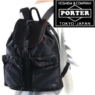 PORTER - 美品!PORTER/吉田カバン(ポーター) タンカー リュック ブラック