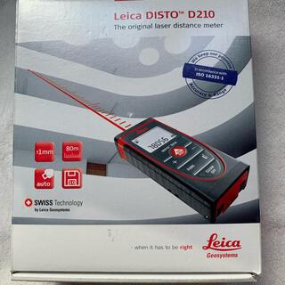 ライカ(LEICA)のタジマ レーザー距離計 ライカディストD210 DISTOD210(工具/メンテナンス)
