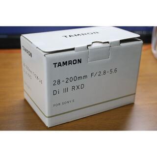 TAMRON - 【新品未開封】28-200mm Di iii RXD(A071)