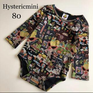 HYSTERIC MINI - ヒステリックミニ 長袖 ロンパース 80 薄手 春 ヒスミニ