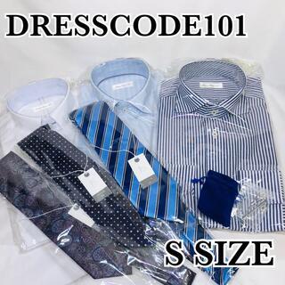 新品 形態安定ワイシャツ シルク混定番ネクタイ 各3セット タイピン付