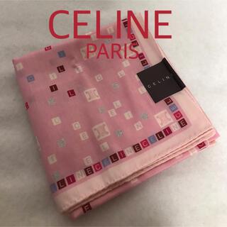 セフィーヌ(CEFINE)の[新品 未使用]  CELINE  大判 ハンカチ(ハンカチ)