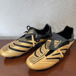 adidas - 【未使用】27.0cmサッカースパイク(ゴールド)