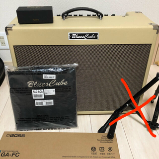 ローランド(Roland)のRoland blues cube artist  EJ セット(ギターアンプ)
