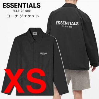 Essential - essentials コーチジャケット XS ブラック