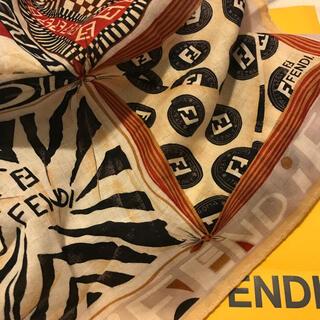 FENDI - フェンディ   ハンカチスカーフ ネイティブ  Nice idea design