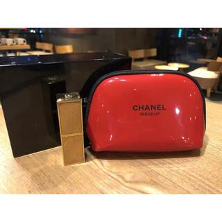 CHANEL - 【新品】CHANELシャネル ノベルティポーチ RED