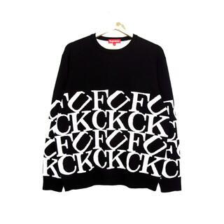 Supreme - シュプリームSupreme■20AW Fuck Sweaterニットセーター