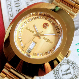 RADO - #1225【高級感がお洒落】メンズ腕時計 ラドー RADO ダイヤスター デイト