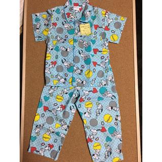 スヌーピー(SNOOPY)のスヌーピー  パジャマ 半袖 100サイズ(パジャマ)