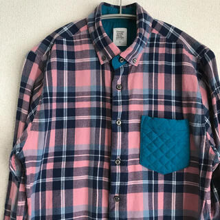 Design Tshirts Store graniph - graniph*チェックシャツ ネルシャツ【S】