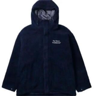 the ennoy boa jacket NAVY Lサイズ エンノイ