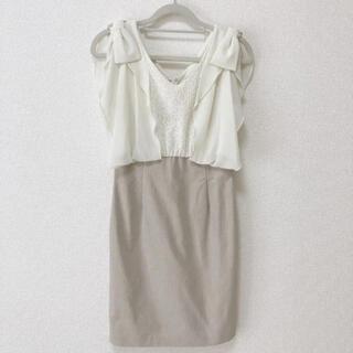 ミーア(MIIA)のクリーニング済み MIIA ワンピース ドレス(ひざ丈ワンピース)