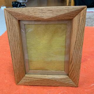 新品未使用 手作り木工製品 額縁フォトフレーム 20✖︎16センチ(写真額縁)