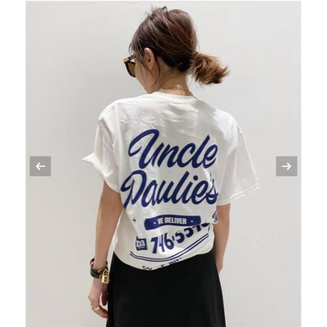 L'Appartement DEUXIEME CLASSE(アパルトモンドゥーズィエムクラス)の【UNCLE PAULIE'S / アンクルポーリーズ】POCKET T-SH レディースのトップス(Tシャツ(半袖/袖なし))の商品写真