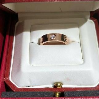 Cartier - 【美品】Cartier カルティエ ラブリング ダイヤ