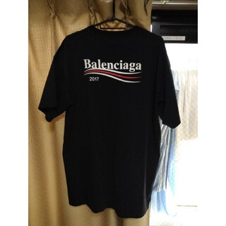 Balenciaga - 確実正規品 balenciaga キャンペーンロゴTシャツ