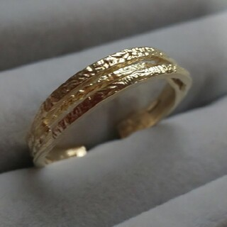 カオル(KAORU)のアトリエカオル ヘリックス リング K18(リング(指輪))