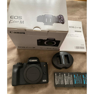 Canon - Canon EOS Kiss M (バッテリー4本)