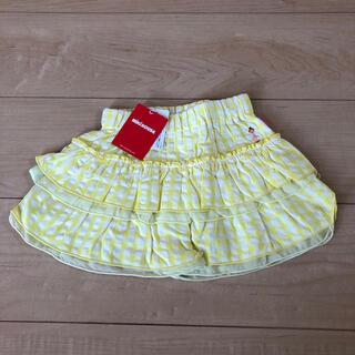 ミキハウス(mikihouse)の新品 ミキハウス キュロットスカート 90cm(スカート)