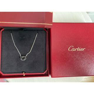 Cartier - カルティエ ラブネックレスWG