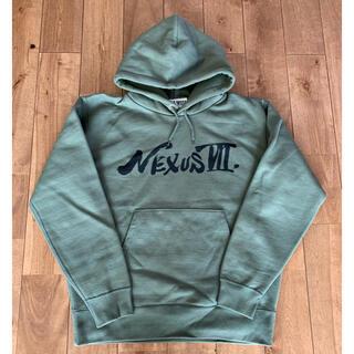NEXUSVII - nexus7 アキラフォント パーカー 48 オリーブ