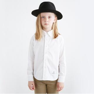 コドモビームス(こども ビームス)のSMOOTHY ホワイトシャツ M(110〜120)(ドレス/フォーマル)