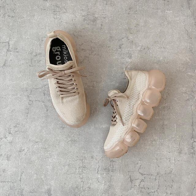 MIKIO SAKABE(ミキオサカベ)の早い者順❣️grounds JEWELRY (グラウンズ ) SAND ROSE レディースの靴/シューズ(スニーカー)の商品写真