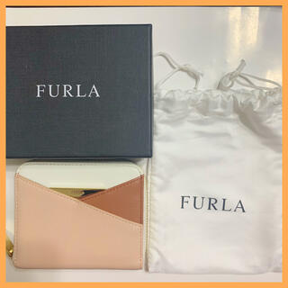 Furla - 週末セール★フルラ FURLA ラウンドファスナー レザー 財布 革 ミニ財布