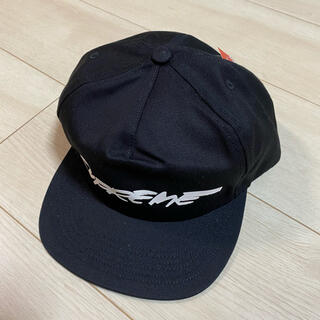 Supreme - supreme futura cap 黒