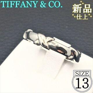 Tiffany & Co. - ティファニー シグネチャー 925 シルバー リング 美品 新品仕上