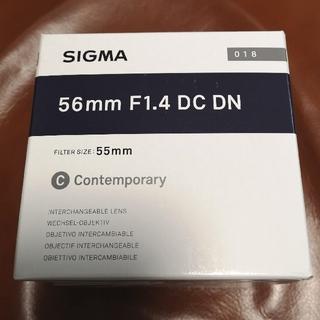 SIGMA - 新品 シグマ SIGMA  56mm C F1.4 DC DN ソニーEマウント