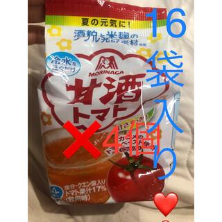 カゴメ(KAGOME)の甘酒トマト カゴメ 4個入り×4袋で計16袋入り(ダイエット食品)